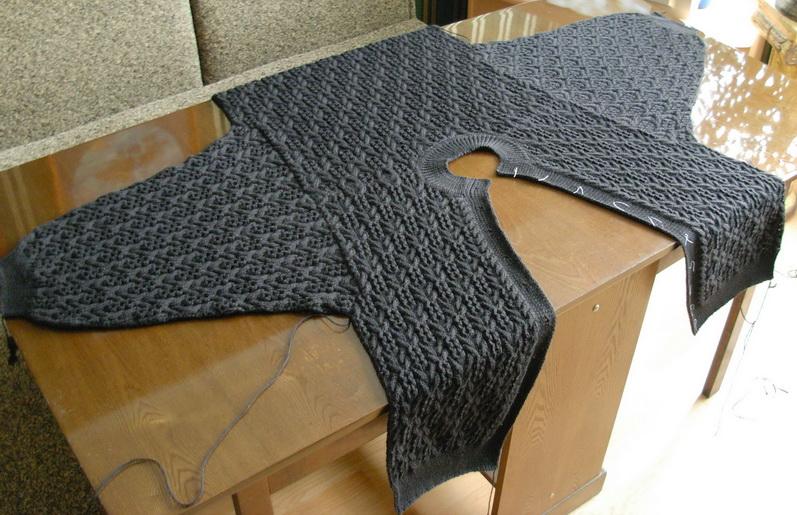 Куртки вязание с подкладкой